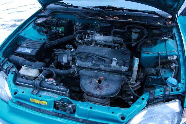 1992 Honda Civic VX, all stock, original VTEC-e engine ...